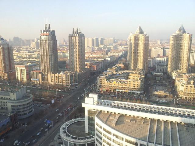 中国某都市へ!